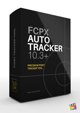 Final Cut Pro X plugin FCPX Auto-Tracker from Pixel Film Studios