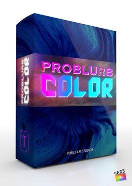 Final Cut Pro X Plugin ProBlurb Color from Pixel Film Studios