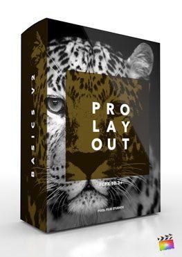 Final Cut Pro X Plugin ProLayout Basics Volume 2 from Pixel Film Studios