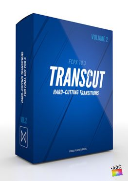 Final Cut Pro X Transition TransCut Volume 2 from Pixel Film Studios