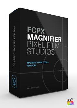 Final Cut Pro X Plugin FCPX Magnifier from Pixel Film Studios