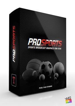 Final Cut Pro X plugin ProSports from Pixel Film Studios