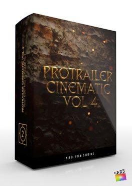 Final Cut Pro X Plugin ProTrailer Cinematic Volume 4 from Pixel Film Studios