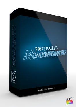Final Cut Pro X Plugin ProTrailer Monochromatic from Pixel Film Studios