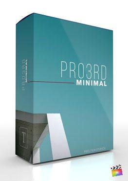 Final Cut Pro X plugin Pro3rd Minimal from Pixel Film Studios