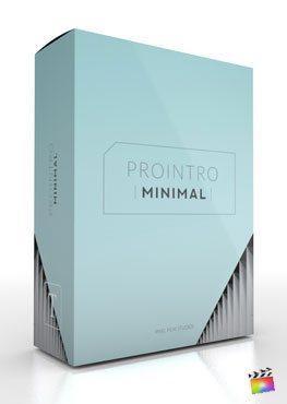 Final Cut Pro X Plugin ProIntro Minimal from Pixel Film Studios