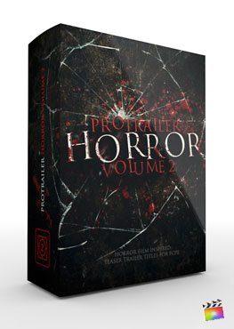 Final Cut Pro X Plugin ProTrailer Horror Volume 2 from Pixel Film Studios