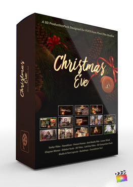 Final Cut Pro X Plugin Christmas Eve Production Package from Pixel Film Studios