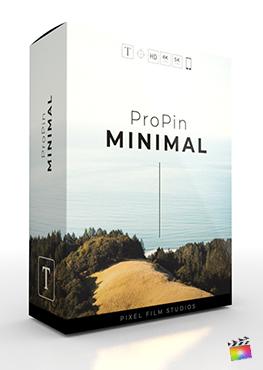 Final Cut Pro X Plugin ProPin Minimal from Pixel Film Studios
