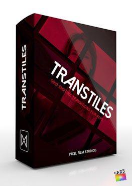 Final Cut Pro X transition TransTiles from Pixel Film Studios