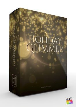 Final Cut Pro X Theme Holiday Glimmer from Pixel Film Studios