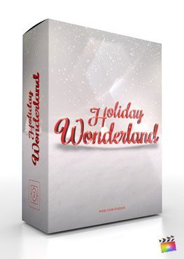 Final Cut Pro X Plugin Holiday Wonderland from Pixel Film Studios