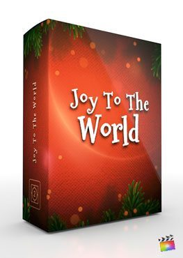 Final Cut Pro X Theme Joy To The World from Pixel Film Studios