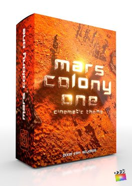 Final Cut Pro X Theme Mars Colony One from Pixel Film Studios