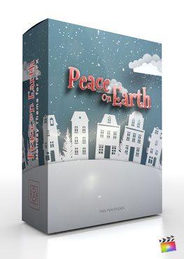 Final Cut Pro X Plugin Peace On Earth from Pixel Film Studios