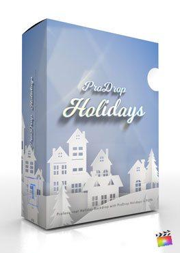 Final Cut Pro X plugin ProDrop-Holidays from Pixel Film Studios
