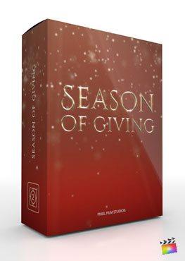 Final Cut Pro X Theme Season of Giving from Pixel Film Studios
