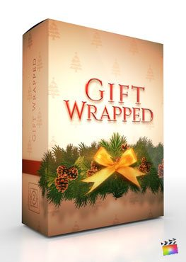 Final Cut Pro X Theme Gift Wrapped from Pixel Film Studios