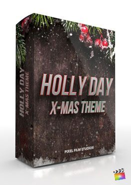 Final Cut Pro X Plugin Holly Day from Pixel Film Studios