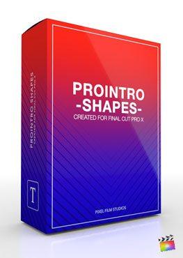 Final Cut Pro X Plugin ProIntro Shapes from Pixel Film Studios