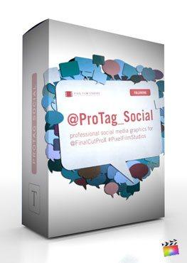 Final Cut Pro X Plugin ProTag Social from Pixel Film Studios