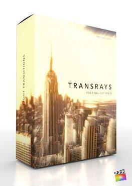 Final Cut Pro X Transition TransRays Pixel Film Studios