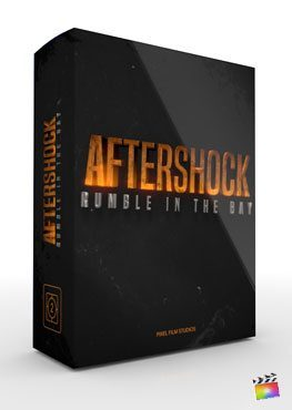Final Cut Pro X Theme Aftershock from Pixel Film Studios