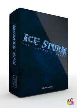 Final Cut Pro X Theme Ice Storm from Pixel Film Studios