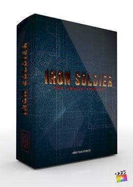 Final Cut Pro X Theme Iron Soldier from Pixel Film Studios