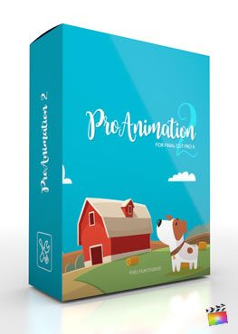 Final Cut Pro X Plugin ProAnimation 2 from Pixel Film Studios