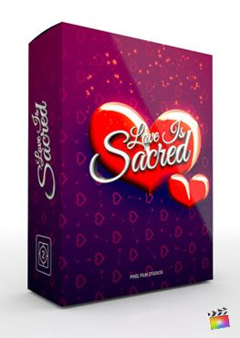 Final Cut Pro X Theme Love is Sacred from Pixel Film Studios