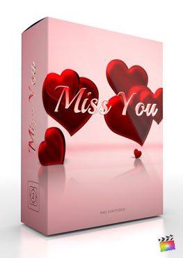 Final Cut Pro X Theme Miss You from Pixel Film Studios