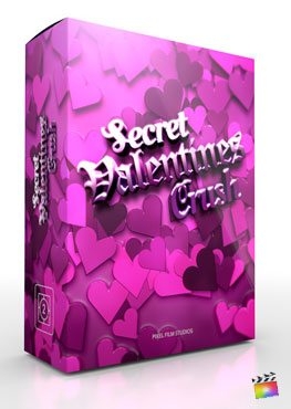 Final Cut Pro X Theme Secret Valentines Crush from Pixel Film Studios