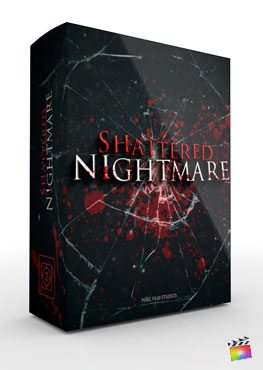 Final Cut Pro X Theme Shattered Nightmare from Pixel Film Studios