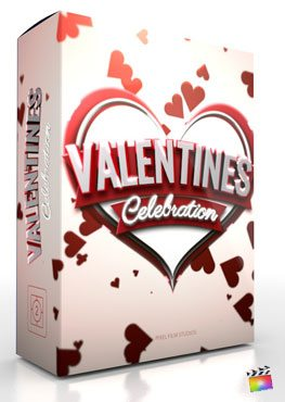 Final Cut Pro X Theme Love Charm Valentines Celebration
