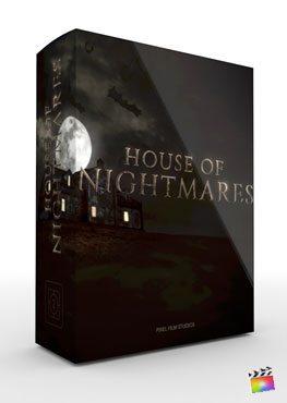 Final Cut Pro X Plugin House of Nightmares from Pixel Film Studios