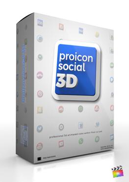 Final Cut Pro X Plugin ProIcon Social 3D from Pixel Film Studios