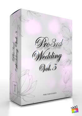Final Cut Pro X Plugin Pro3rd Wedding Vol 2 from Pixel Film Studios