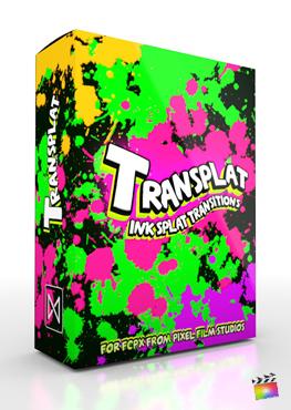 Final Cut Pro X Transition TranSplat from Pixel Film Studios