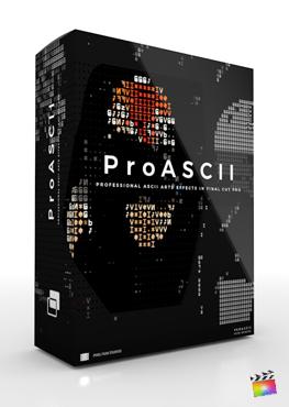 Final Cut Pro X Plugin ProASCII from Pixel Film Studios