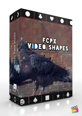 Final Cut Pro X Plugin FCPX Video Shapes from Pixel Film Studios
