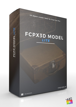 Final Cut Pro X Plugin FCPX3D Model Lite from Pixel Film Studios