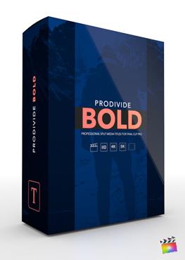 Final Cut Pro X Plugin ProDivide Bold from Pixel Film Studios