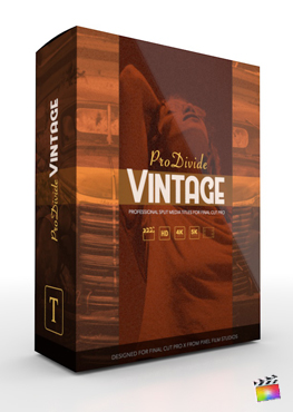 Final Cut Pro X Plugin ProDivide Vintage from Pixel Film Studios
