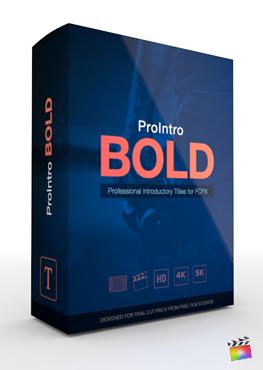 Final Cut Pro X Plugin ProIntro Bold