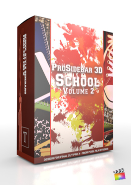 ProSidebar 3D School Volume 2