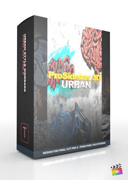 Final Cut Pro X Plugin ProSidebar 3D Urban from Pixel Film Studios
