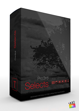 Final Cut Pro Plugin - Pro3rd Selects