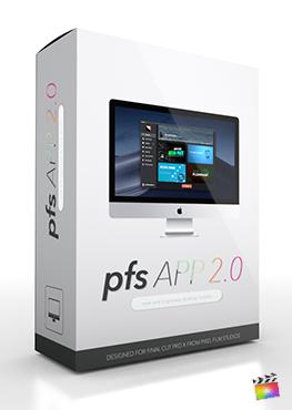 Final Cut Pro X Plugin PFS App from Pixel Film Studios