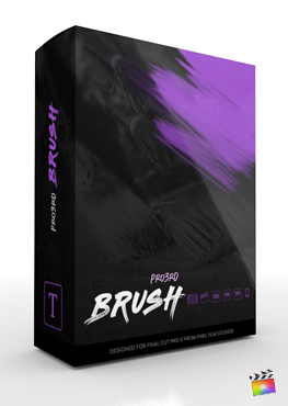 Final Cut Pro Plugin - Pro3rd Brush